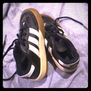 Toddler Samba Adidas sneakers size 8